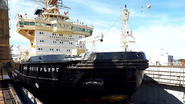 Морские покрытия ТМ АКРУС® были использованы во время ремонта л/к «Санкт-Петербург»